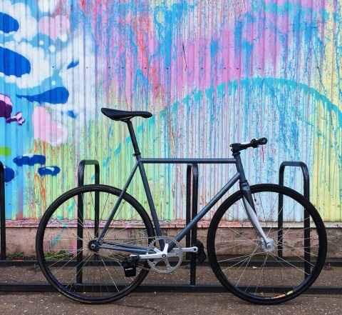 Fixed Гир bike