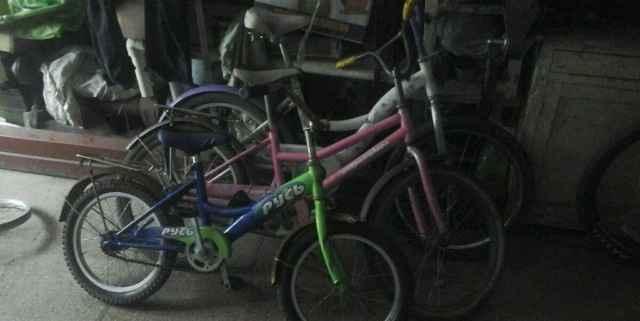 Детские велосипеды от 4 до 9 лет