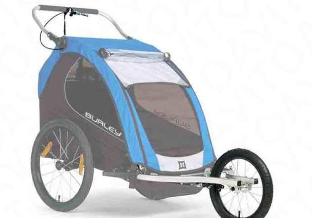 Набор Burley Double Jogger Kit для спорт. коляски - Фото #1