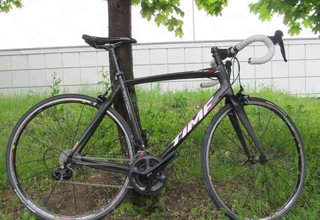 Новый карбоновый велосипед time First ростовка М