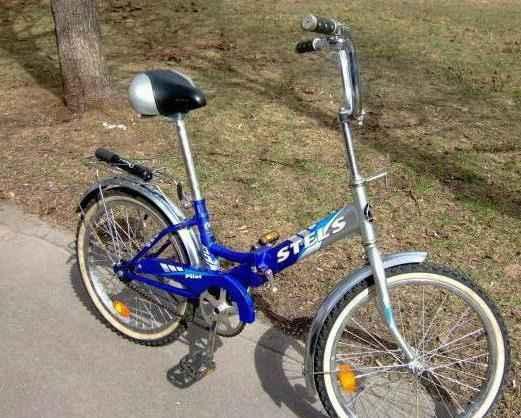 Велосипед складной Стелс Pilot 410 20''
