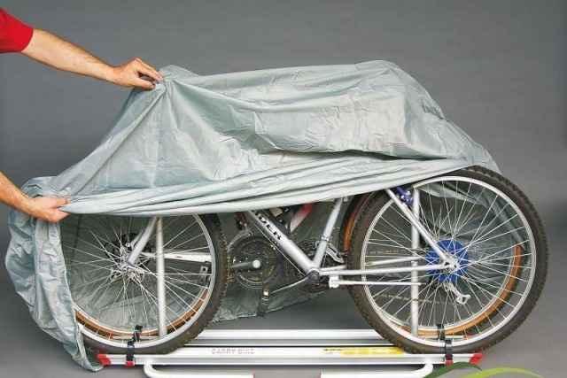 Чехол тент на велосипед