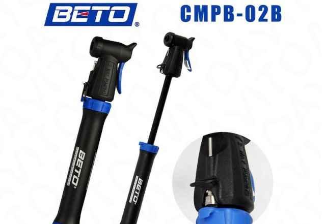 Велосипедный насос beto cmpb-02b универсальный - Фото #1