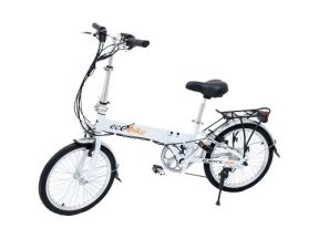 Ecobike Storm. Белый электроведосипед