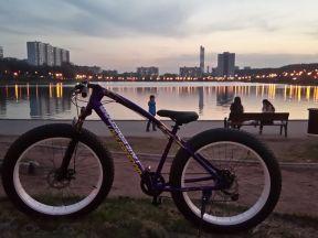 Новый велосипед-внедорожник с широкие шины фэтбайк