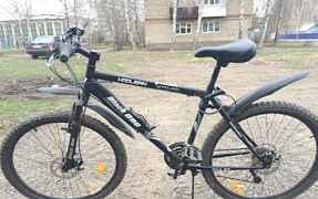 Качественный с дисковыми тормозами велосипед для в