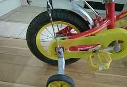 Детский велосипед 12 колеса