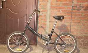 Велосипед марки Стелс. Чёрный. Б/у