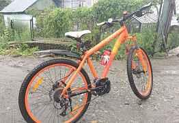 Велосипед scott Контесса 630 (оранжевый)