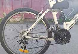 Велосипед горный, двухподвес