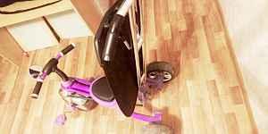 Трехколесный велосипед (велик)
