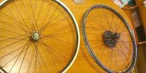 Покрышки и колеса от велосипеда