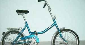"Складной велосипед ""Аист"""
