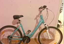 Женский велосипед Giant Sedona, бирюзовый, р. М