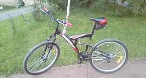 """Велосипед горный 20"""" Mission Chellenger красный"""