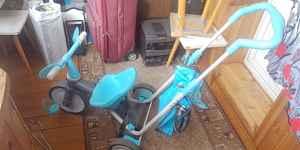 Трехколесный велосипед - коляска Джуниор Sky 3x3