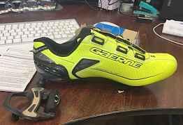 Шоссейные велотуфли Gaerne carbon chrono+ 2017
