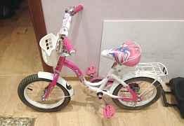 Велосипед для девочки Форвард, 14 дюймов
