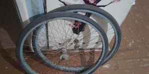 Седло, колеса