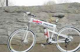 2-х подвесный складной велосипед для кросс-кантри