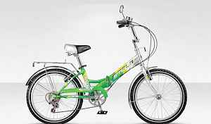 18 скоростей.велосипед складной, легкий алюминиев