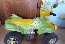 Квадроцикл детский с электроприводом