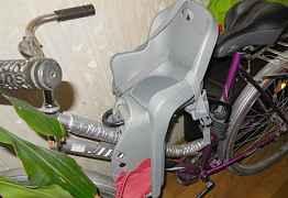 Детское кресло+велосипед