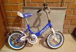 2 детских велосипеда