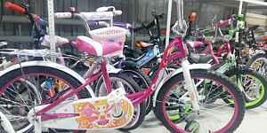 Новый велосипед Камилла 20