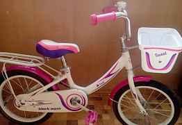 Алюминиевый велосипед на 16 Свит