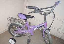 Велосипед новый, на 12 дюйм, от 2,5 лет -4,5 лет