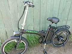 Электровелосипед новый дорожный 20