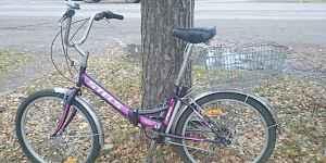 Продам складной велосипед Stels miss750