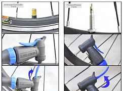 Велосипедный насос beto cmpb-02b универсальный
