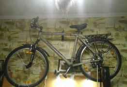 Горный велосипед -спасет от пробок
