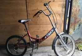 Подростковый складной велосипед Стелс Pilot 430