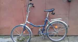 "Велосипед складной, типа ""Салют"""