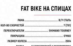 Фэтбайк, Fatbike, велосипед
