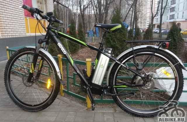 Электровелосипед Электро, двигатель 500Вт, 70 км