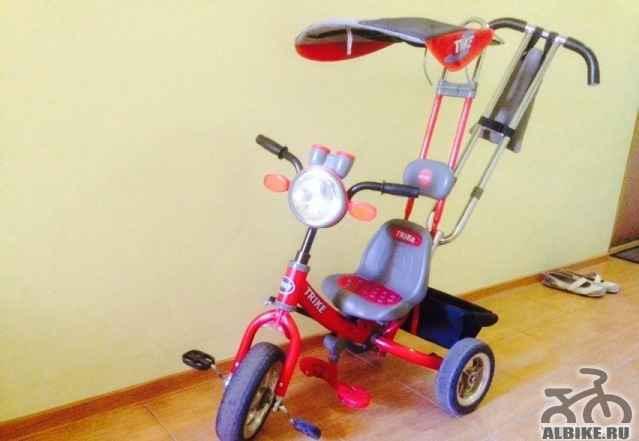 детский 3 колесный велосипед