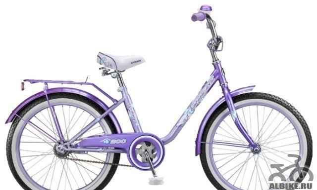 Велосипед стелс Пилот 200 Girl (2013) для девочки
