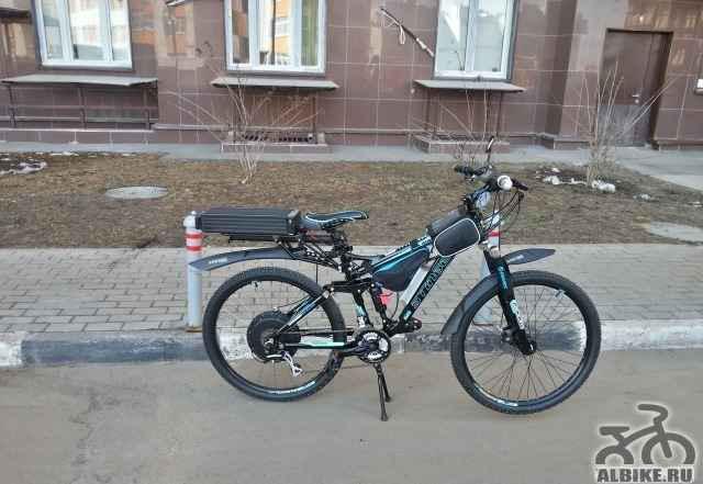 Электровелосипед - 60 км/ч