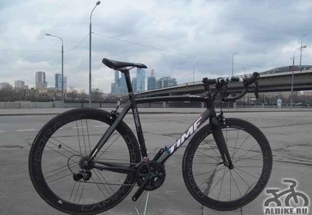 Карбоновый велосипед time First ростовка М новый