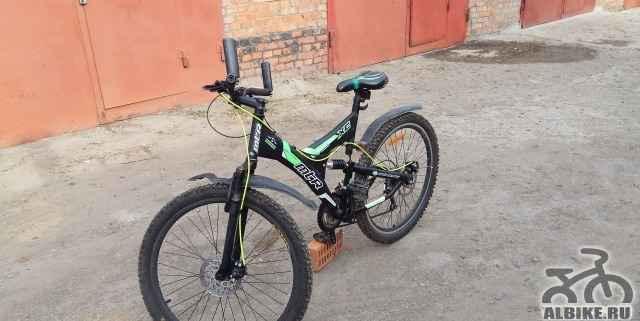 Велосипед 2х подвесной mtr