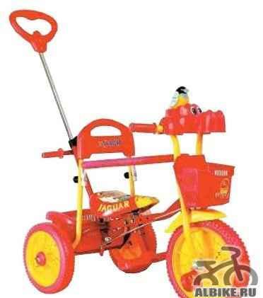 Трехколесный велосипед ягуар для малышей 1-4 года