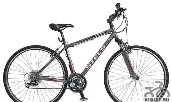 велосипед стелс 700 Кросс 130