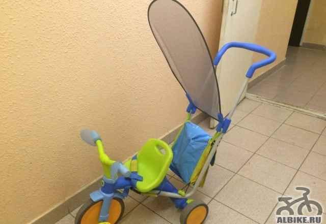 Трехколесный велосипед-коляска 3X3 джуниор SKY