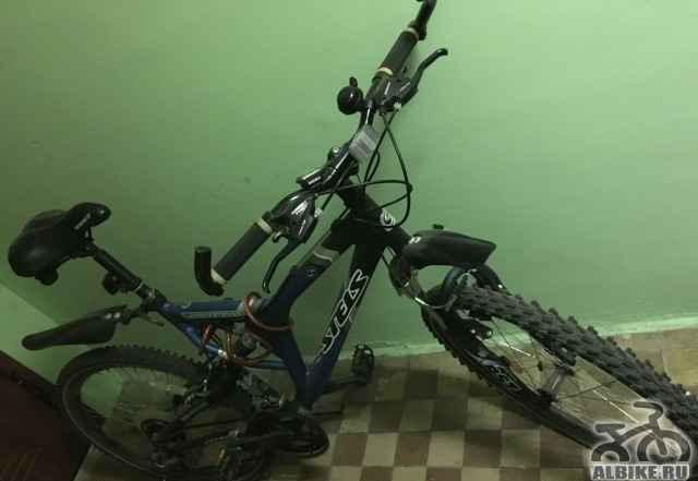 Велосипед Стелс Адреналин (темно синий)