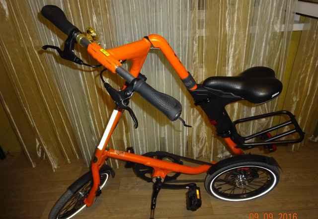 """Велосипед """"strida 5.2"""". 2016 года выпуска"""