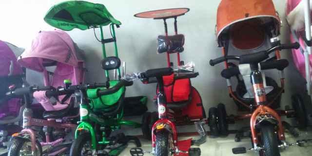 Новые велосипеды. Разные модели от8 мес до3 лет